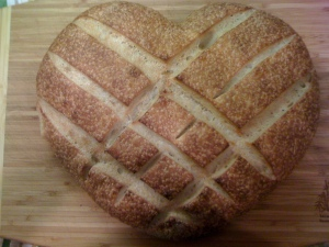 Heart Sourdough