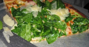 Tommaso's Spinach Pizza